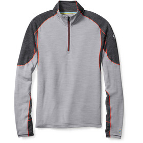 """Smartwool M's PhD Light Zip T Lt Grey"""